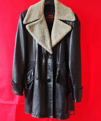 Leather Trench Coat  (Used)