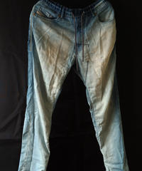 【Diesel】Denim Sweatpants (Used)