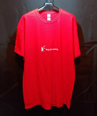 【Bug Screaming】 T Shirt Red