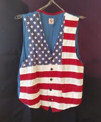 American Flag Vest  (Used)