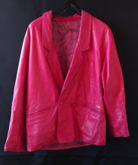 Leather Pink Jacket (Used)