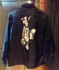 "【Bug Screaming】""MUTSUYO"" Coaches Jacket Black"