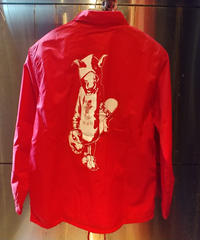 MUTSUYO Coaches Jacket Red