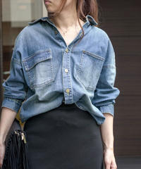 スラウチシャツジャケット(2色展開)_16141241