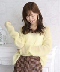 mohair loose knit