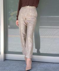 jacquard cropped pants