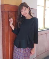 <ruri ikeda produce > cut  peplum   tunic【受注販売】