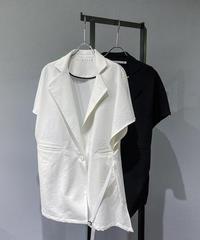【aileFanM】Sleeveless Deform Jacket