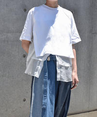 【Parc.1】Cotton Layered Tops