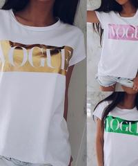 VOGUEロゴTシャツ 4色展開