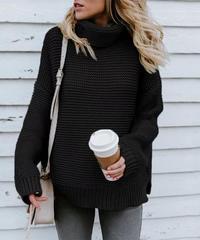 タートルネックセーター 4色展開