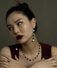 momentel jewelry   stone necklace