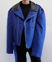 VINTAGE   WOOL RAIDERS JACKET
