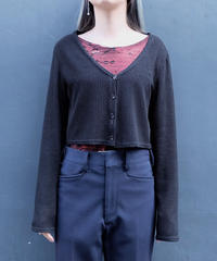 Vintage   Short Cardigan