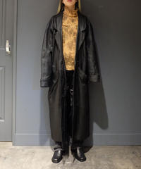 Vintage   Leather Long Coat