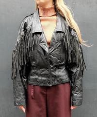 Vintage   Fringe Leathe Jacket