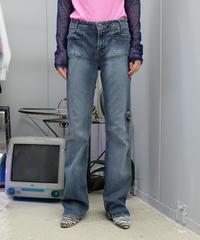 Vintage   Denim frea Pants 5