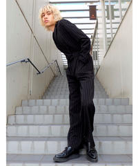 Vintage   Stripe Jump Suit