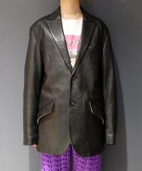 Vintage   Leather Tailored Jacket 1