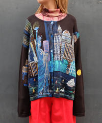 Vintage   paint cardigan