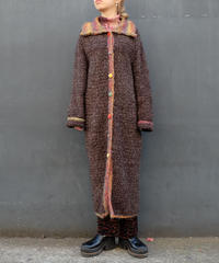 Vintage   Knit Long Coat