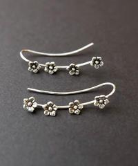 momentel jewelry   flower ear cuff