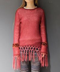 Vintage   Mohea Fringe Knit