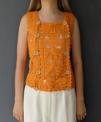 Vintage Design Knit Vest