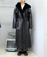 Vintage   Fake Leathar Coat