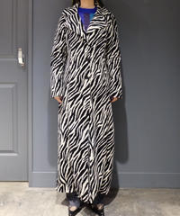 Vintage   Zebra Long Coat