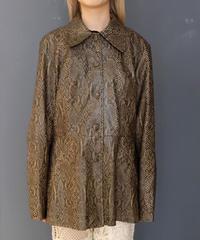 Vintage   Python Jacket