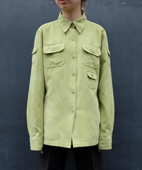 Vintage   Fake suède Shirt