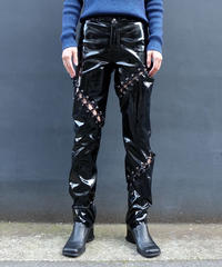 Vintage   Enamel Design Pants