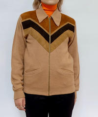 Vintage    Suede Design Knit
