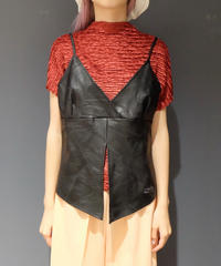 Vintage   Leather Tops