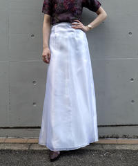 Vintage   Layered Long Skirt