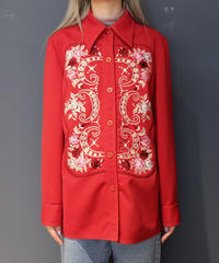 Vintage   Embroidery Shirt