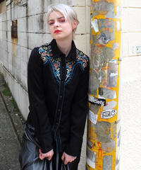 Vintage   Embroidery Westan Shirt