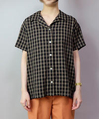 Vintage   Polyester Check Shirt