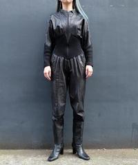 Vintage   Leather  Jumpsuits