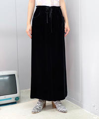 Vintagde   Velours Skirt
