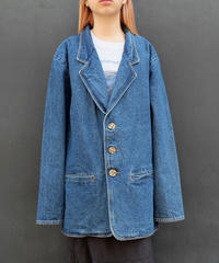 Vintage   Denim Tailored Jacket