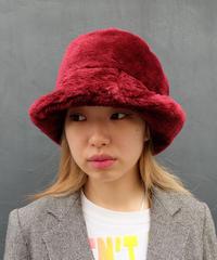 Vintage   Fake Fur Hat 2