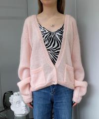 Vintage   Mohair Knit Cardigan