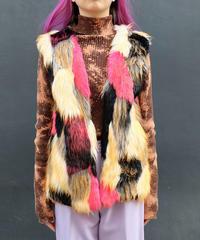 Vintage   Fake Fur Vest
