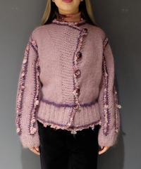 Vintage   mohair Design Knit
