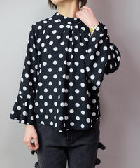 Vintage   Dot Design Tops