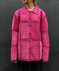 Vintage   Suède  Design Jacket