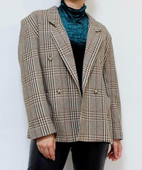 VINTAGE   Glencheck TAILORED JACKET