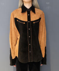 Vintage   suède Westan Shirt